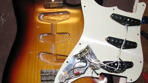 strat the guitar zero the body cavity was completely unshielded as you see here
