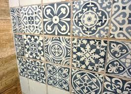 sydney patterned tiles encaustic look artisan floor wall retro patterned vinyl floor tiles
