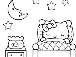 Hello Kitty Coloring Pictures Pages Printable Christmas Mtkguideme