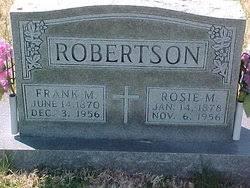 """Rose Myrtle """"Rosie"""" Frey Robertson (1878-1956) - Find A Grave Memorial"""
