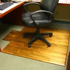gorgeous office chair pad with hardwood office chair mat the green head