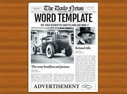 Newspaper Template Google Colonial Newspaper Template 5 Handy Google Docs Templates For