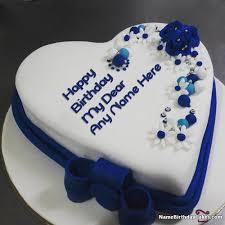 Happy Birthday Cake Name For Mom