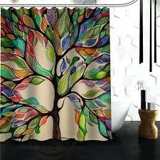 tree of life shower curtain custom the tree of life shower curtain bath novelty polyester fabric