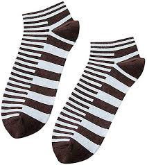 Walaha Mens Socks Cotton <b>Four Seasons</b> Fashion Striped <b>Low Cut</b> ...
