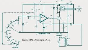 temperature wiring diagram temperature controller wiring diagram temperature digital temperature controller circuit diagram the wiring diagram on temperature controller