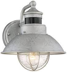 galvanized lighting fixtures. Home Interior: Startling Amazon Outdoor Light Fixtures Kichler 9040BK One Wall Mount Porch Lights From Galvanized Lighting
