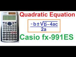 casio fx 991es plus shift solve method