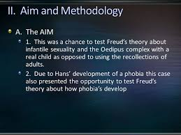 a why is this study useful especially to freud he had 5 a