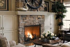 Awesome Fireplaces With Stone Veneer Nice Design For You
