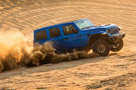 Let's dig into the numbers, because it's game on. Tested 2021 Jeep Wrangler Unlimited Rubicon 392 How Fast Is The Wrangler V8 Edmunds