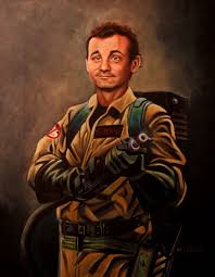 bill murray portrait as peter venkman