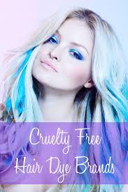 Cruelty Free Hair Dye Brands