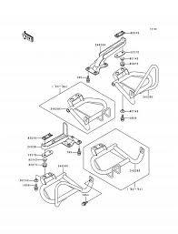 1994 kawasaki bayou 400 4x4 klf400b footrests parts best Schematic Diagram at 1994 Klf400b Wiring Diagram