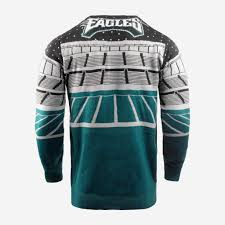 Philadelphia Eagles Sweater With Lights Philadelphia Eagles Light Up Bluetooth Sweater Foco Com