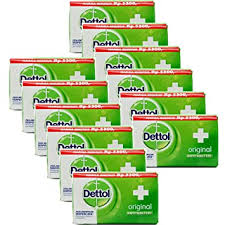 Dettol Anti-Bacterial Hand and Body <b>Bar</b> Soap, Original, <b>110</b> Gr ...