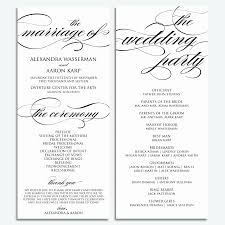 012 template ideas wedding program templates word catholicut m fresh emejing contemporary styles of