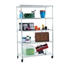 rolling storage racks for garage nice idea metal shelving on wheels garage shelves racks storage the