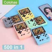 Năm 500 Trong 1 Xách Tay Retro Video Máy Chơi Game 3.0 Inch Máy Chơi Game