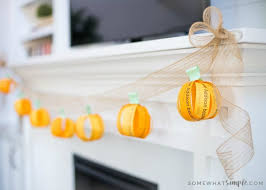 diy fall decorations i love you fall garland