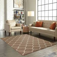 mainstays sheridan cafe 7 x 10 living room home decor tan white area rug