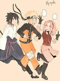 "lyosphe: ""A drawing that would make my 14 years old self happy "" | Naruto  shippuden anime, Anime naruto, Naruto sasuke sakura"