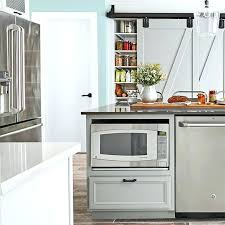 Kitchen Island With Microwave Drawer In Amenities Built Kitc Microwave Drawer In Island98