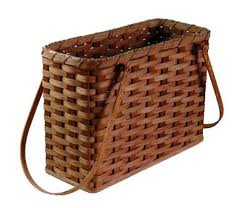 Handmade Magazine Holder Classy Amish Magazine Holder Basket