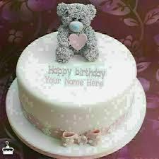 Happy Birthday Cake Name Edit Birthdaycakeformenga