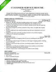 Awesome Sample Resume For Csr With No Experience Call Center Resume