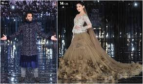 Manish Malhotra Fashion Designing Course India Couture Week 2017 Outifts By Manish Malhotra Gaurav