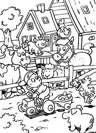 Kleurplaten Kinderboerderij Dieren Kleurplaten Kinderboerderij