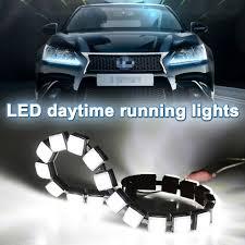Audi A5 Fog Light Bulb Size Us 13 52 20 Off Zd 2pcs Car Led Day Lights 12v Drl Fog Lamp Bulb For Skoda Octavia A5 A7 2 Fabia Yeti Bmw E60 F30 X5 E53 Inifiniti Accessories In