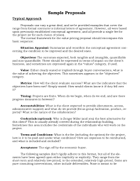 Business Proposal Examples Images - Resume Cover Letter Examples