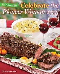 Covering the beef tenderloin in a salt crust makes roasting it easy and fast, which leaves me with plenty of time to make delicious side dishes. Celebrate The Pioneer Woman Way Pressreader