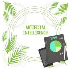 Writing Note Showing Artificial Intelligence Business Concept