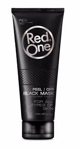 Red one peel of mask