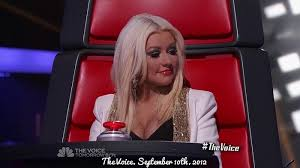 christina aguilera 39 s style the voice season 3 blind auditions