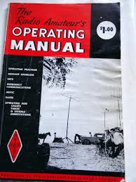 The Radio Amateurs Operating Manual 1966