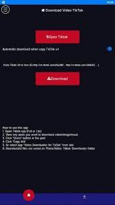 Video and music downloader for tik tok(no watermark) app let you download your favorite tik tok video and music without watermark. Video Downloader Without Watermark Free Download