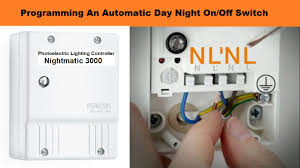 Programming An Automatic Day Night Onoff Switch