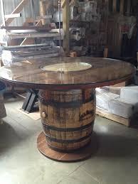 wood barrel furniture. 104 Best Images About Great Barrel Ideas On Pinterest Wine Lazy Susan Whiskey Barrels Kitchen Table Wood Furniture