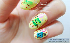 Simple Nail Art New Years ~ Easy fashionable new years nail art ...