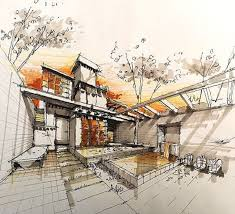 architecture sketches. architecture sketches plan amazing landscape interior sketch inspiration architectural drawings u