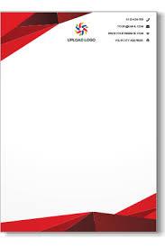 Letterhead Design Online Online Letterhead Printing Custom Letterheads Design Templates
