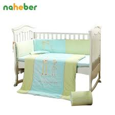 baby deer crib bedding sets cotton baby cot bedding set cartoon deer crib bedding 4 size duvet cover pillow pers hunting baby bedding crib sets