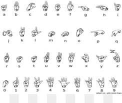 Sign Language Alphabet Png Sign Language Alphabet L Sign