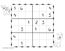 Download And Print Sudoku Templates For Kids 6x6 For Free