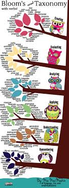 20 Creative Blooms Taxonomy Infographics Everybody Loves Using