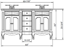 What Is The Standard Height Of A Bathroom Vanity Enchanting How Tall Is A Bathroom Vanity